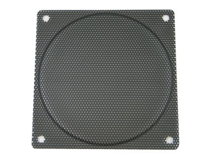 120mm Black Steel Computer Case Fan Mesh Grill / Guard / Filter - Small Hole