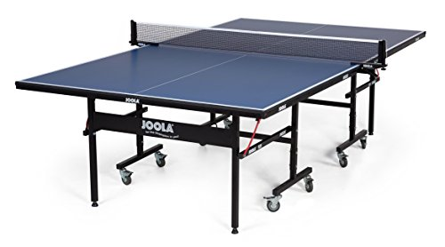 ble Tennis Table with Net Set - Features Quick 10-Min Assembly, Playback Mode, Foldable Halves ()