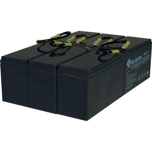 TRIPP LITE RBC96-3U UPS REPLACEMENT BATTERY 3U 1 SET OF 6 72VDC SMART ()