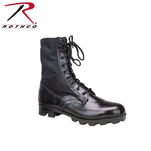 Rothco 8'' GI Type Jungle Boot, Black, 10 - Rothco Nylon Boot