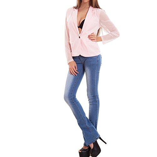 Toocool - Camiseta de manga larga - para mujer Rosa