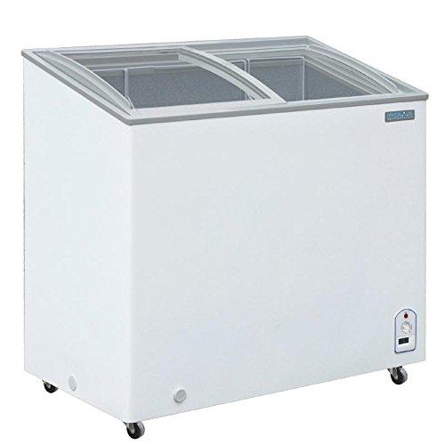 Polar pantalla pecho congelador 200LTR capacidad 200LTR superior de vidrio puertas correderas: Amazon.es: Grandes electrodomésticos