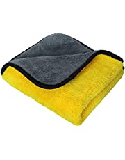 Premium Microfibre Drying Cloth | Buffing Cloth | Car Cleaning Cloth | Super Absorbent Microfiber Cloth (40cm x 60 cm)