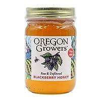 Oregon Growers, Blackberry Honey, 18 oz.