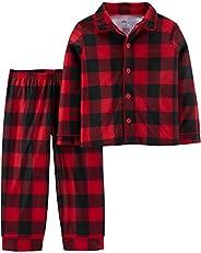 Simple Joys by Carter's Boys 2-Piece Coat Style Pajama Set Pajama