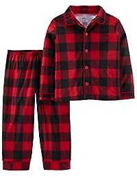 Simple Joys by Carter's Boys 2-Piece Coat Style Pajama Set Pajama Set