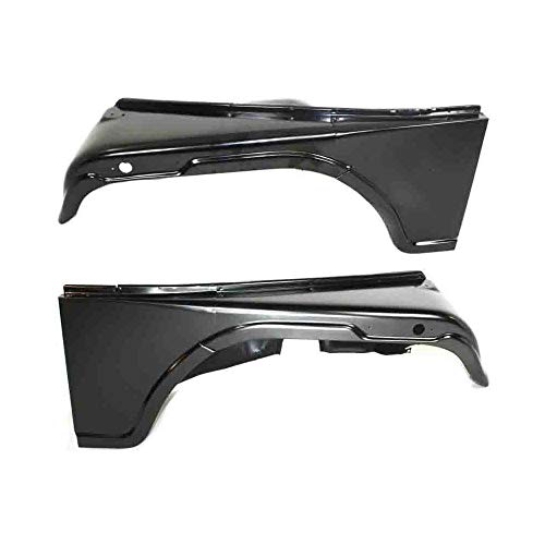 Fender compatible with 1968 Jeep CJ5A Set of 2 Steel Primed Front Left and Right Side