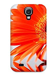 New MBxNysL2894BLBvu Flower Skin Case Cover Shatterproof Case For Galaxy S4