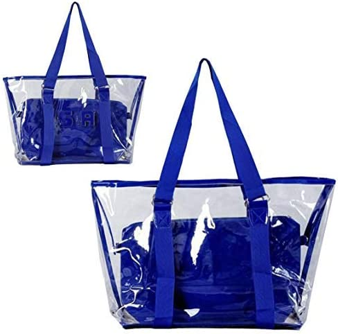 Prefer To Life Clear Handbag Organizer of 2 in 1 Sets Luggage Waterproof Shoulder Totes Bags
