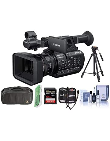 54bcd2182 Canon XF405 Professional Camcorder. 1. Sony PXW-Z190 Compact 4K 3-CMOS  1 3-type Sensor XDCAM