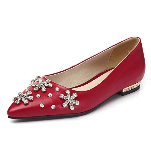 Nine SevenBallet Flats - Ballet mujer Red