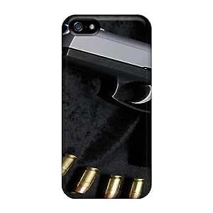 For QOzCfLp3219UPAvi Bullets Protective Case Cover Skin/iphone 5/5s Case Cover