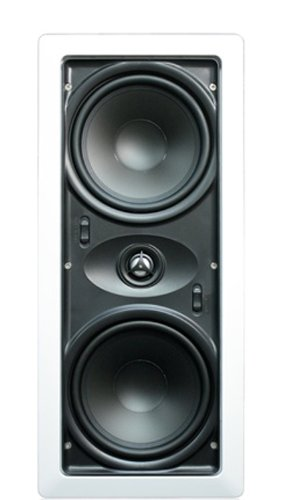 Pure Resonance Audio PRS-IW6500HT Home Theater In Wall LCR Speaker 80W 8 Ohms Pivoting Tweeter (Pair)