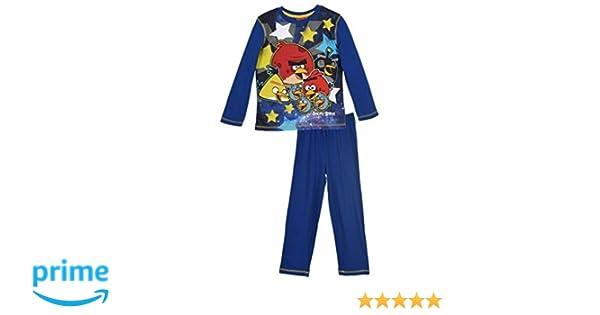 ROVIO ENTERTAINMENT - Pijama Dos Piezas - Manga Larga - para niño: Amazon.es: Ropa y accesorios