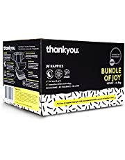 Thankyou Baby Nappies, Bundle of Joy, Infant 4-8kg (96 Count)