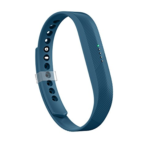 tbit Flex 2 Band, Replacement for Fitbit Flex 2 Accessories Band Navy Small Adjustable Sport Fitness Wristband w/Fastener Clasp for Fitbit Flex 2 Men Women Teens Kids No Tracker ()