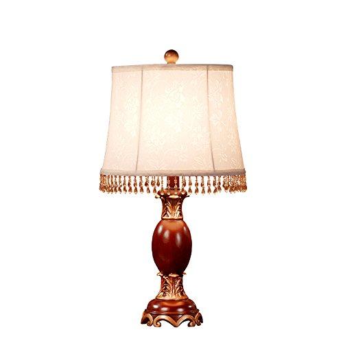 YFF@ILU amerikanisches Land retro Tischleuchte Nachttischlampe Schlafzimmer modernen minimalistischen Europäischen Lampe kreative Mode Wohnzimmer Dekoration