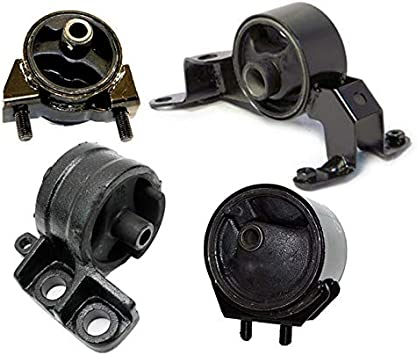 Federal Emission Only 97-03 Ford Escort 2.0 Motor /& Trans Mount Kit 4Pcs W// AT