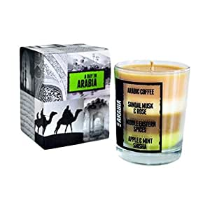 Natural Light Candle Company Wax Clear A Day In Arabia Destination Candle