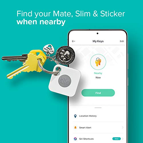 Tile bluetooth tracker to locate items