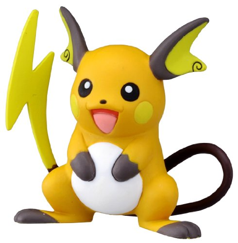 Takaratomy Official Pokemon X and Y MC-047 2″ Raichu Action Figure