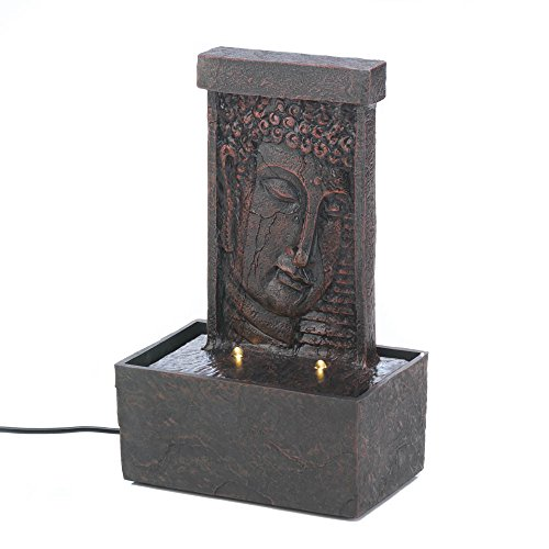 Koehler Home Décor Peaceful Buddha Tabletop Fountain