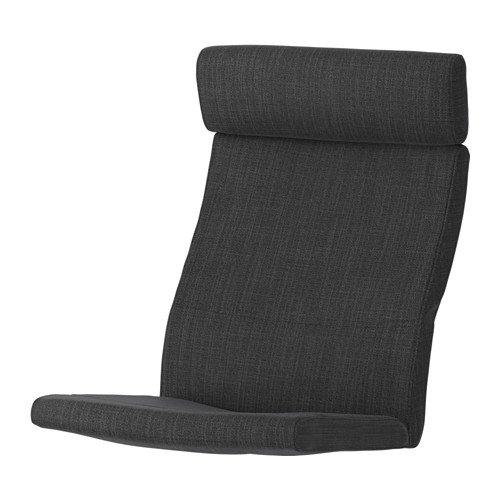 POÄNG Chair cushion, Hillared anthracite