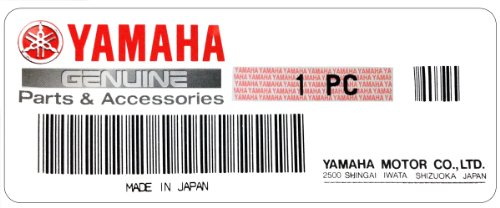 06-12 YAMAHA YZF-R6: Yamaha Genuine OEM Oil Filter 5GH-13440-20-00; 5GH-23440-50-00 ()