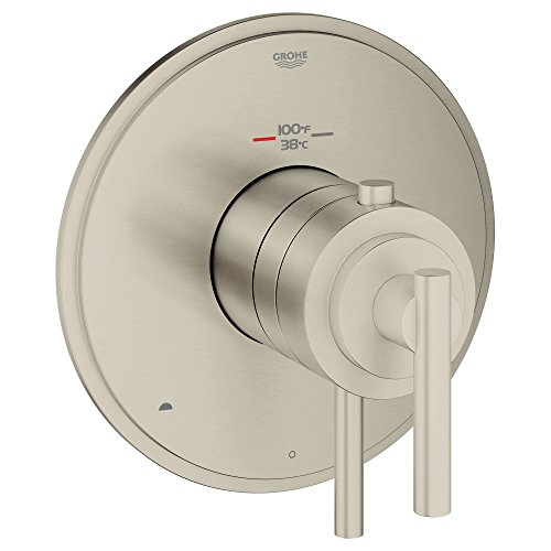 Grohflex Timeless Dual Function Thermostatic Trim With Control Module GROHE
