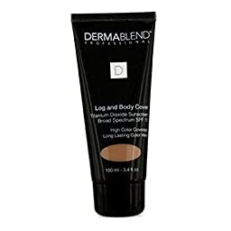 Dermablend Leg and Body Cover Make-Up SPF 15, Toast, 3.4 Ounce