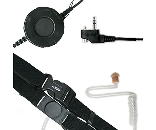 ARC T25013 Neck Strap Tactical Throat Mic for Midland Maxon SP PL Series (See - National Mall Harbor