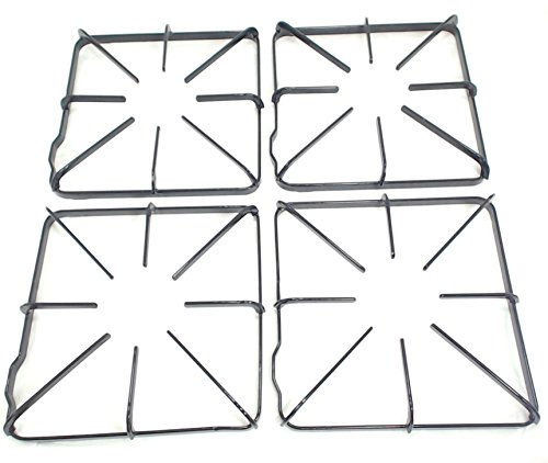 Gas Range Burner Grates - Gas Range Burner Grate 4 Pack for General Electric AP2027947 PS244178 WB31K10012