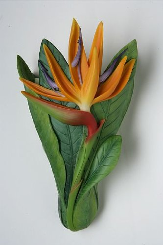 Bird of Paradise Wall Vase by Ibis & Orchid Design