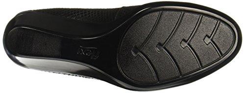 Flexi 45503 Moana para cuña Negro Mujer de piso Zapatos rRrwqF