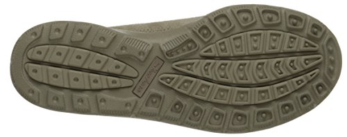 Skechers Relaxed Living Chillax Mujer Ante Zapatillas Taupe