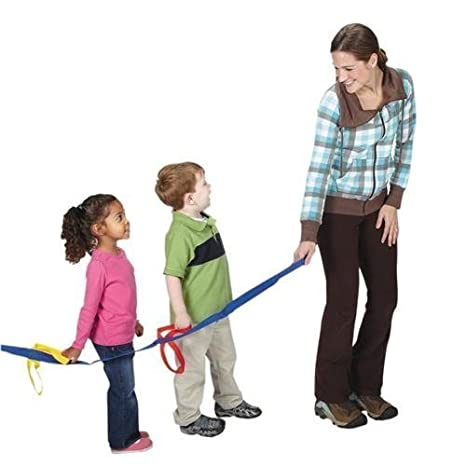 Daycare w// Carry Bag. The Learning Classroom 12-Child plus 4-Child Extension Walking Rope for Preschool