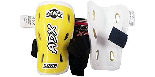 Par de espinilera futbol infantil con velcro ajustable ADX