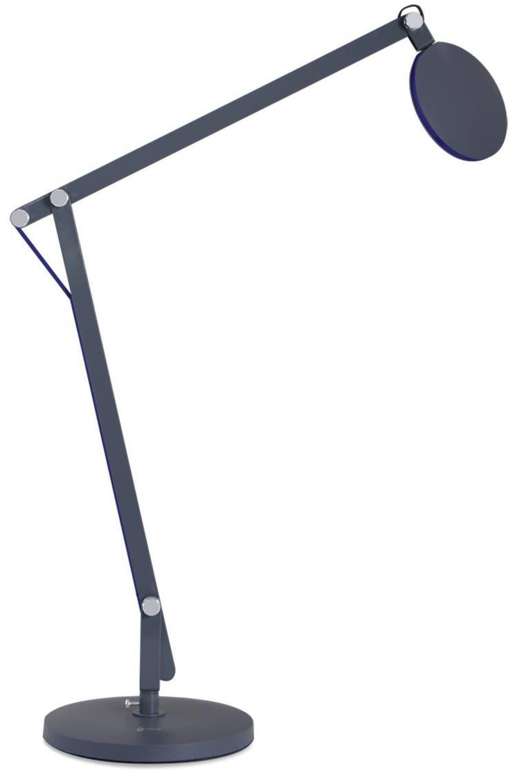 OttLite T57G5B-FFP LED Crane Desk Lamp with Clamp Configuration and Red Cord Black 21.62 x 7.62 x 25.75 Environmental Lighting Concepts 21.62 x 7.62 x 25.75
