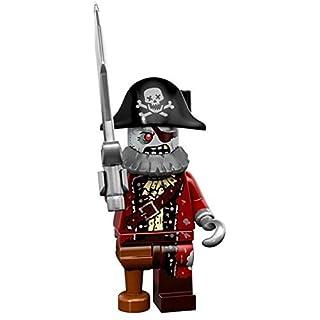 LEGO Series 14 Minifigure Zombie Pirate Captain