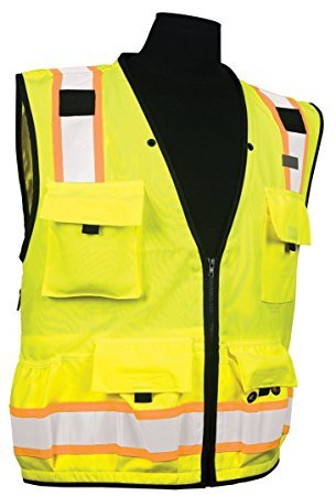 ML Kishigo - Caltrans Series Polyester/Ultra-Cool Mesh, Class 2, color: Lime, size: Large