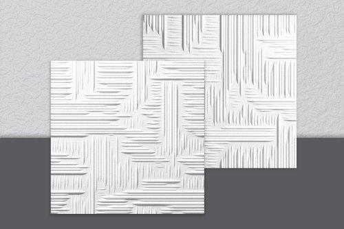 3 opinioni per 18 MQ PANNELLI SOFFITTO DECORATI IN POLISTIROLO EFFETTO 3D LILLE cm 50 x 50