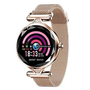 Reloj inteligente con pantalla a color para mujer Monitoreo de la ...