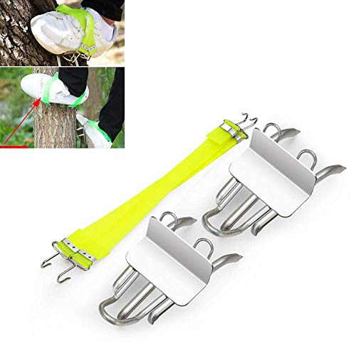Mercures Tree Climbing Tool | 304 Stainless Steel Pole Climbing Spikes for Picking Fruit