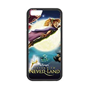 iphone6 plus 5.5 inch Black phone case Disney Cartoon Return to Never Land EYB1374688