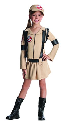 Girls Ghostbusters Costume for Ages 8-10 Large]()