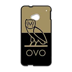 HTC One M7 Case Cell phone Case Drake Ovo Owl Plastic Baxw Durable Cover