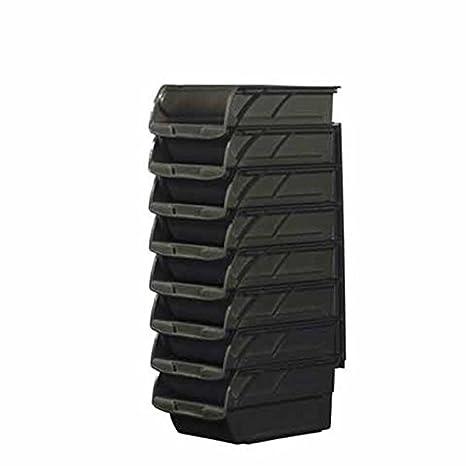 Stanley Juego de Cajas de Almacenamiento Abiertas, 8 Unidades más listón de Pared, 1-94-468: Amazon.es: Bricolaje y herramientas