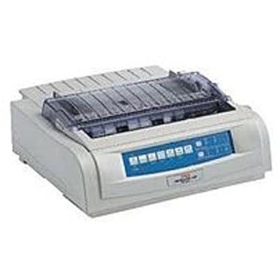 Oki 62418803 MICROLINE 421N Dot Matrix Printer - 9-pin - 570 cps Mono - 240 x 216 dpi - USB, Parallel (Certified Refurbished)