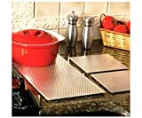 Insulated Non Skid Kitchen Counter Protection Mat / Liners - Choose Size (7' x 7 ' Sq. Set of 2)