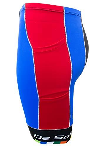 De Soto Mobius Tri Short 4-Pocket (Red/Blue), Small by De Soto (Image #1)